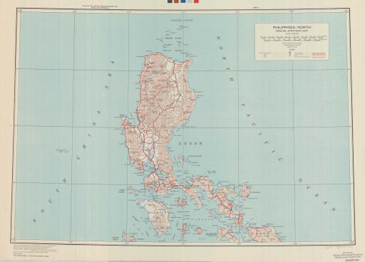Map of Philippines North: Special Strategic Map