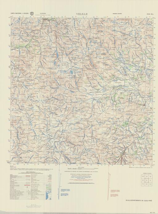 Map of Velille