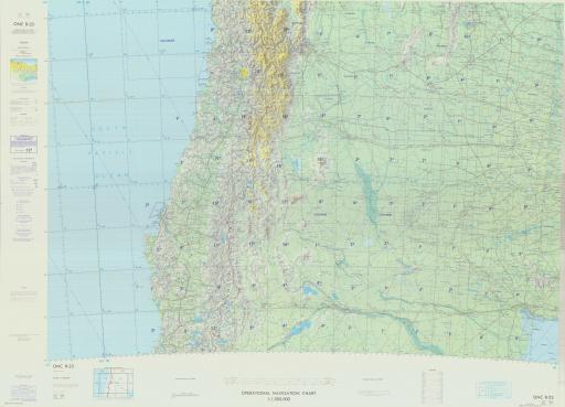Map of Argentina, Chile
