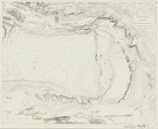 Map of Bathymetry: E Caribbean