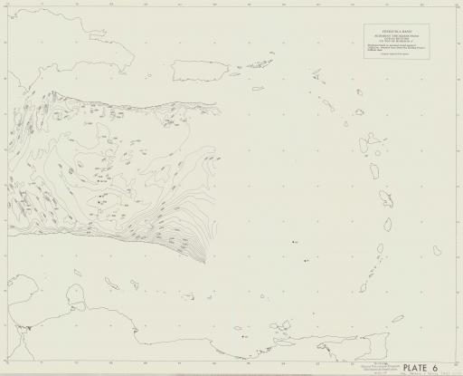 Map of Venezuela Basin: Sed Thickness to Top of Horizon A