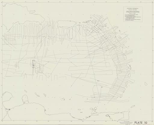 Map of (C) Track Control: E Caribbean