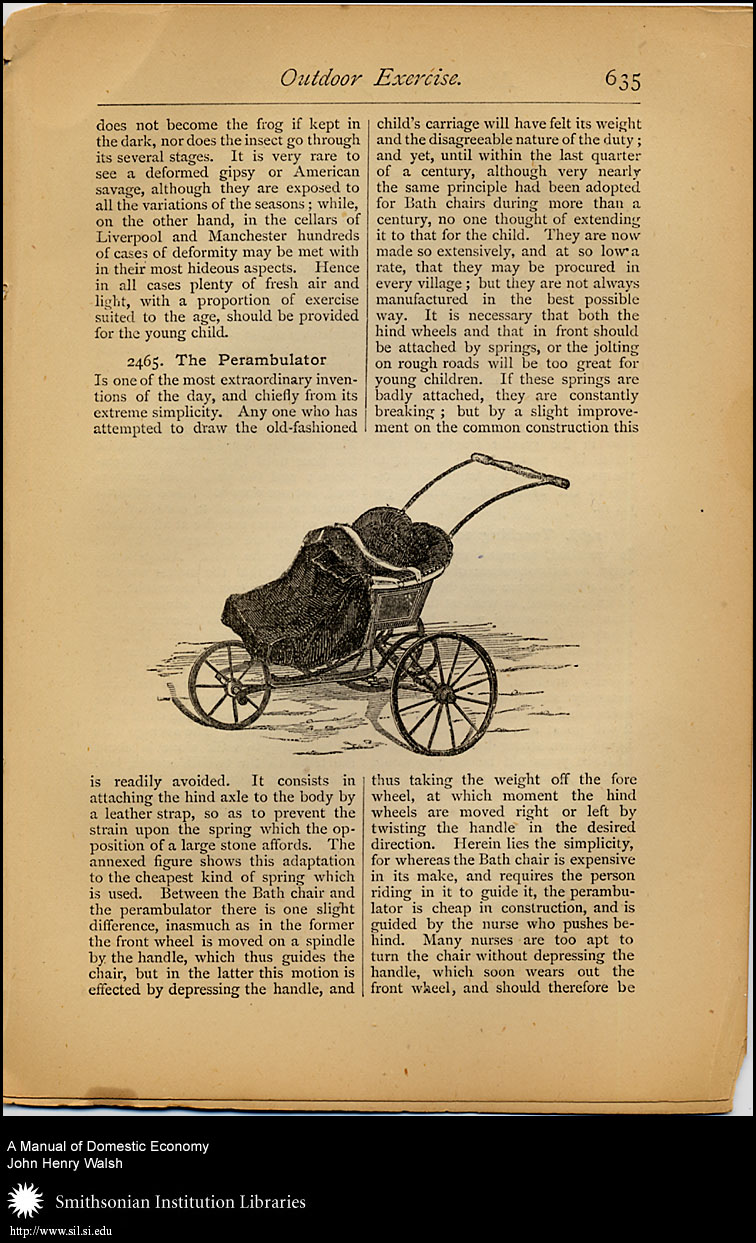 Mothers found the perambulator a great aid while raising small children.,  Image number:sil7-93-06a