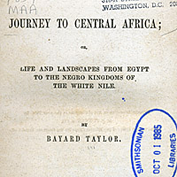 Journey to Central Africa; or, Life and Landscapes from Egypt to the Negro Kingdoms of the White Nile