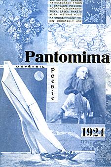Pantomima Verše 1922 - 1924