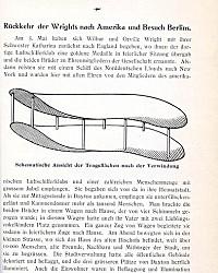 Brüder Wright; eine Studie über die Entwicklung der Flugmaschine von Lilienthal bis Wright