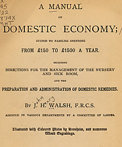 Manual of Domestic Economy