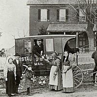 Rural Free Delivery in Westminster, Maryland 1899