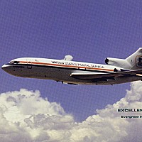 United States Postal Service aircraft transporting the mails