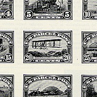 Parcel post stamps of 1912-1913