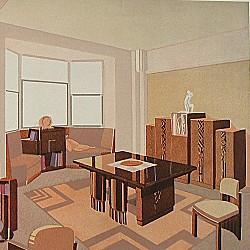 Intérieurs au Salon des Artistes Décorateurs