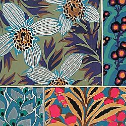 Bouquets et Frondaisons: 60 motifs en couleur