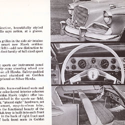 Studebaker-Packard for '58: Salesman's Data Book