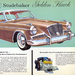 [Studebaker Golden Hawk loose leaf]