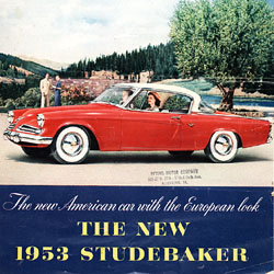 New 1953 Studebaker: The New American Car With the European Look