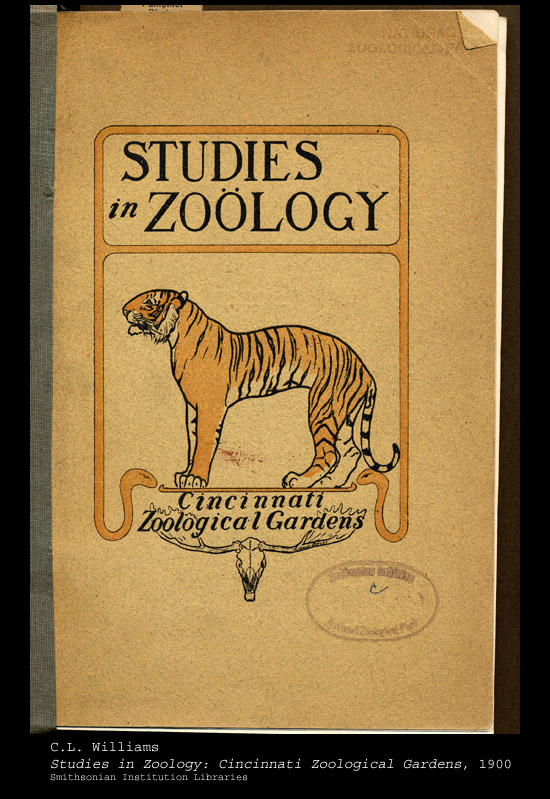 Cover, with tiger illustration,  Image number:sil24-001-01