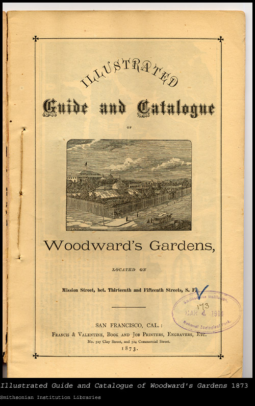 Cover, showing zoo buildings,  Image number:sil24-002-01
