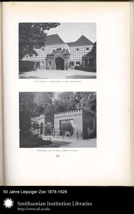 Leipzig zoo buildings,  Image number:sil24-008-02