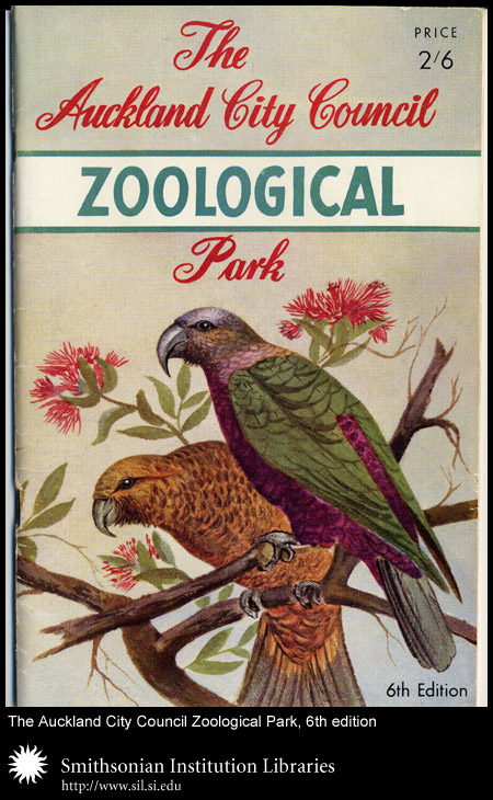 Cover, with two parrots,  Image number:sil24-019-01
