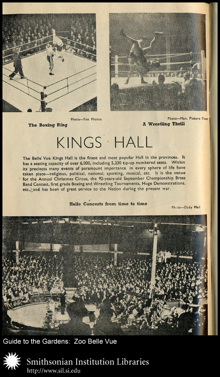 Belle Vue Zoo was one of many to hold sporting and social events on its grounds.,  Image number:sil24-037-02