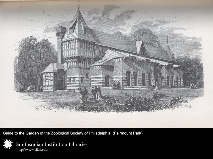 Zoo buildings, Fairmont Park, Philadelphia,  Image number:sil24-045-03